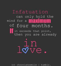 difference between crush love and infatuation essay