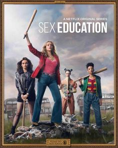 Amazing poster via Sex Educations Instagram page - NetflixSexEducation