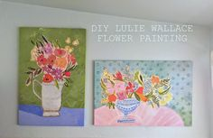 DIY Lulie Wallace Painting