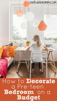 You want to redo your preteen's bedroom, but you don't want to break the bank. Check out these 5 tips for how to decorate a preteen bedroom on a budget for some great ideas for decorating your child's room on the cheap.