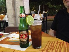Mexican beer speciallity - spicy - Mexico  - more information on www.family-travel-planner.de