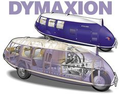 Bucky's 1934 Dymaxion Transport -- how can I make this bicycle powered? Lightweight it even more? Two bikes?