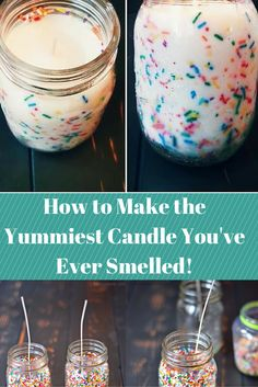 How to Make the Yummiest Candle You've Ever Smelled!