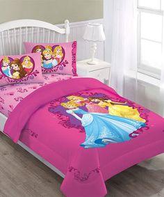 Another great find on #zulily! Disney Princess Comforter Set #zulilyfinds