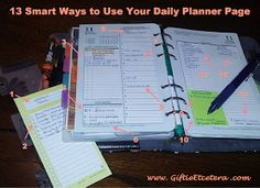 planner, day on two pages, Franklin, Franklin Covey, Daytimer hot list