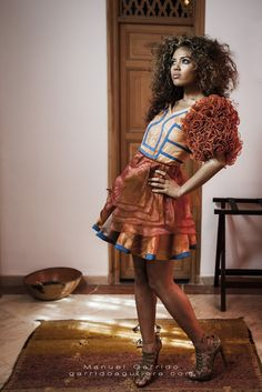 Fotoshoot Dutch Fashion Meets Marrakech