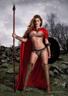 Sparta - rule 63 because I don't believe they had female warriors in films with…