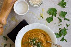 pumpkin & lentil soup:jessica cox recipe pumpkin & lentil soup