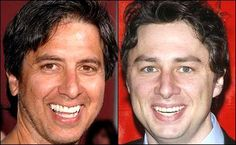 Separated at birth?   Ray Romano and Zach Braff Click to see more