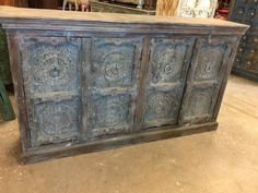 https://www.houzz.com/photos/96125446/Consigned-Lotus-Carved-Distressed-Blue-Sideboard-Media-TV-Storage-Cabinet-traditional-buffets-and-sideboards