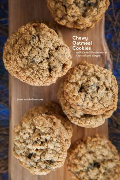 Chewy Oatmeal Cookies by Irvin Lin of Eat the Love. www.eatthelove.com
