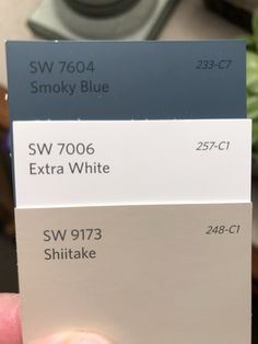 Exterior home renovation families 56 new Ideas - Extérieur de la maison Exterior Paint Colors For House, Interior Paint Colors, Paint Colors For Home, Paint Colours, Paint Colors For Basement, Coastal Paint Colors, Blue Gray Paint Colors, Exterior Paint Schemes, House Paint Color Combination
