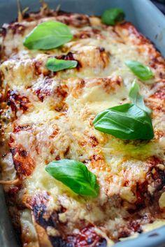 Canelloni med ost och skinkröra – Fyllda pastarullar