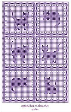 G Ordijn – Diy Crafts - Katzenrassen Beautiful Cats Cat Cross Stitches, Cross Stitch Kits, Cross Stitch Charts, Cross Stitch Designs, Cross Stitching, Cross Stitch Embroidery, Cross Stitch Patterns, Crochet Cat Pattern, Crochet Diagram