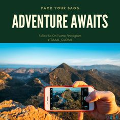 """""""Pack Your Bags!"""" """"Adventure Awaits!"""" \m/ #Traaal is Coming Soon! #FollowUs & #StayTuned for updates. (^_^) #travel #startups #business #apps #travellers #tourists #adventures #places #photography #places2go #tourism #tours #nature #photo #travelphotography #onlinetravelagency #create #travelgram #travelplanner #instatravel"""
