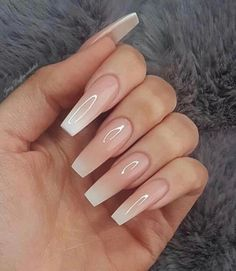 54 Beautiful and Romantic Nail Art Design Ideas Mix-Matched Neutral Nails Nud . - 54 Beautiful and romantic nail art design ideas Mix-Matched Neutral Nails Nud - Nails Polish, My Nails, Gorgeous Nails, Perfect Nails, Coffin Nails Ombre, Glitter Nails, Pink Coffin, Stiletto Nails, Gold Nails
