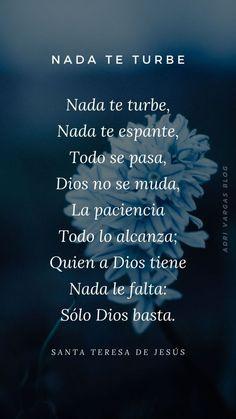God Prayer, Prayer Quotes, Spiritual Quotes, Faith Quotes, Words Quotes, Positive Quotes, Life Quotes, Catholic Prayers In Spanish, Law Of Attraction Planner
