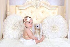 PICK Baby girls LONG ruffle bloomers Newborn by MaMaLoNicouture