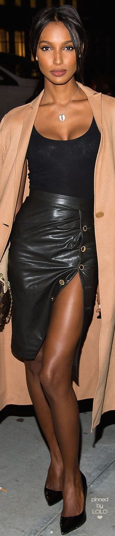 Jasmine Tookes Victoria Secret Viewing Party | LOLO❤︎