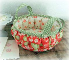 Puffy Basket by K Cotton Studio