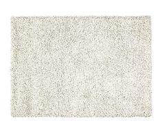 Alfombra Helsinki, natural y gris - 110x60 cm. Con pelito