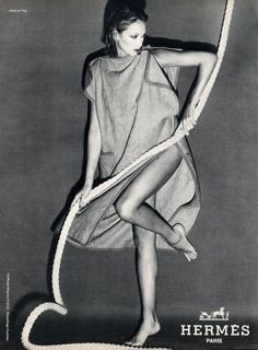 Hermès (Couture) 1978 Jacques Peg Fashion Photography