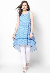 Blue Kurtis