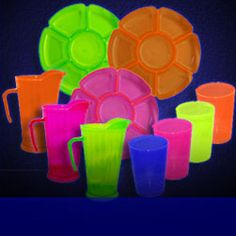Blacklight party supplies at unbeatable prices. We have a great selection of blacklight decorations, blacklight party supplies, blacklight custom banners, blacklight party favors, blacklight tableware and more! Skate Party, Neon Party, 80s Party, Disco Party, Party Time, Neon Birthday, 16th Birthday, Birthday Parties, Neon Sweet 16
