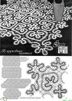 crochet bruges lace pattern - Google Search