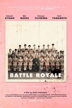 """arresting-gear:  Art Contest of Battle Royale alternative posters.   """