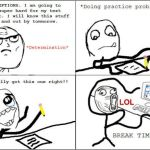 funny meme about exams