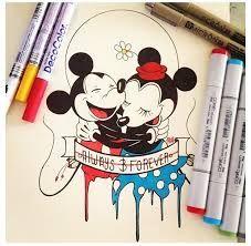 Resultado de imagem para cute disney love drawings