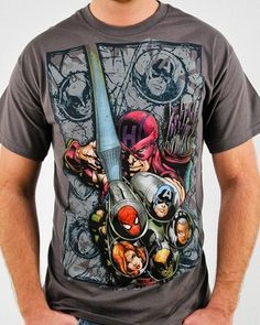 e835dfb2 Shop for the Marvel Hawkeye Shot T Shirt today. This is an officially  licensed Marvel T-Shirt available at Stylin Online now.