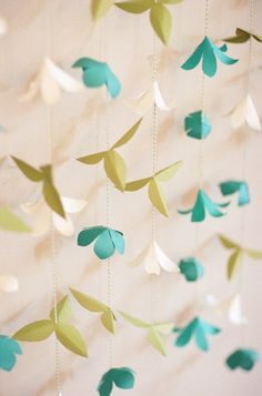 Creative Paper Decor Ideas  Wedding Reception Photos on WeddingWire