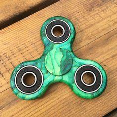 Camo Green Fidget Spinner Green Camouflage