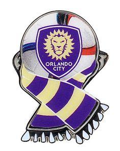 Orlando City MLS Scarf Pin