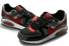 low priced eb437 cf434 Nike Air Max Command Black Grey Red