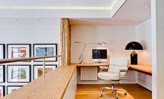 Very cool, office overlooking void area