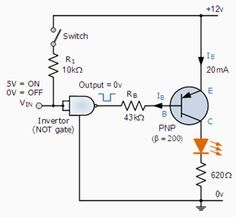 NPN Darlington Relay Switch Circuit electronics in 2019