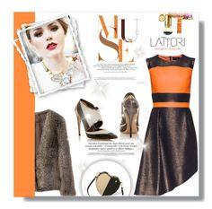 """Lattori Dress #6"" by cherry-bh ❤ liked on Polyvore featuring Lattori, Tory Burch, Prabal Gurung, dress, dresses and lattori"