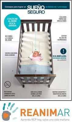 ¿Sabes como preparar la cuna a un bebe? Aprende las nueve recomendaciones y no dejes de compartirlo
