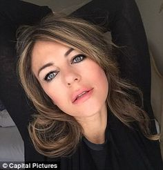Pretty vacant: Elizabeth Hurley should know better