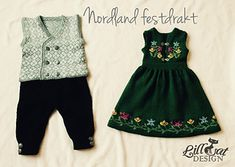 Ravelry: Nordland Festdrakt Gutt pattern by Lill C. Doll Clothes Patterns, Clothing Patterns, Baby Knitting, Ravelry, Romper, Dresser, Baby Dress, Baby Born, Norway