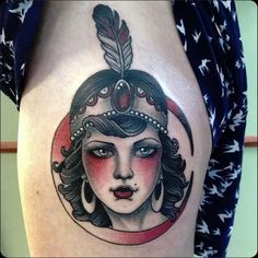 Ruby Flapper Tattoo. Do you want to have a gorgeous homage to the Flappers? Those dancing goddesses from the twenties?