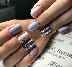 False nails have the advantage of offering a manicure worthy of the most advanced backstage and to hold longer than a simple nail polish. The problem is how to remove them without damaging your nails. Marriage is one of the… Continue Reading → Stylish Nails, Trendy Nails, Cute Nails, Gray Nails, Pink Nails, Blue Nail, Silver Nails, Diy Nail Designs, Gel Manicure