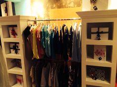 Closeth para blusas en chandelier boutique
