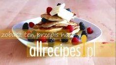 Amerykańskie naleśniki, czyli pancakes - Allrecipes.pl, via YouTube.