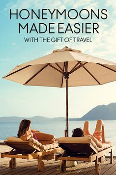 Plan the honeymoon of your dreams with our Gift of Travel service