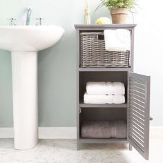 Grey Storage Unit | Dunelm