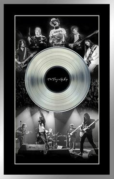 The Tragically Hip Framed Black and White Band Photos with Platinum LP Tragically Hip Lyrics, Band Photos, Him Band, Rock Music, Wall Collage, Vinyl Records, Lp, In This Moment, Black And White